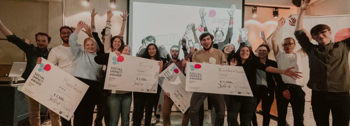 Gewinner Social Impact Award Deutschland 2021